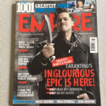 Empire Magazine August 2009 issue 242 Inglourious Basterds